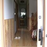 K邸 玄関から廊下